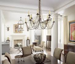 pictures of chandeliers dining room contemporary with glamour