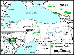 map of abkhazia abkhaz in turkey joshua project