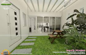 Courtyard Plans by Kerala Home Design Courtyard Ideasidea