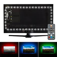 ambient light behind tv amazon com luminoodle professional bias lighting for hdtv for 30