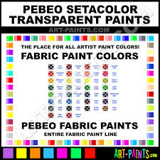 cardinal red setacolor transparent fabric textile paints 24