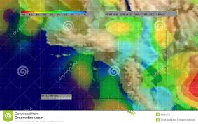 Satellite Weather Map Weather Radar Digital Satellite Map S California Stock Video