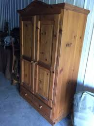 Entertainment Center Armoire Hutch For Tv Stand The Woodlands Texas Furniture For Sale