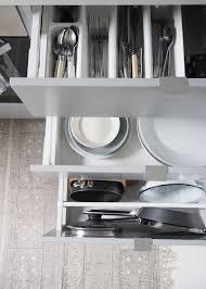 ikea kitchen storage clever storage for a smart looking kitchen