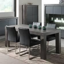 table de cuisine contemporaine table de salle à manger contemporaine rectangulaire melusine