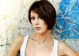 short brunette hairstyles front and back short brunette hairstyles en flower