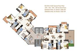3 Bhk Apartment Floor Plan by Salarpuria Sattva Gold Summit Floor Plans For 3 Bedroom