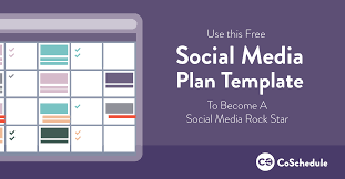 social media planner template images about templates amp free plan