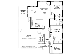 Bungalo House Plans Ranch House Plans Flagstone 31 059 Associated Designs