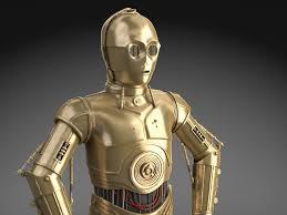 c3po star wars droid robot squir
