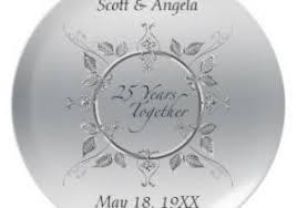 25 year anniversary gift 25th wedding anniversary gift 25th anniversary keychains