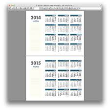 yearly calendar template for pages and pdf mactemplates com
