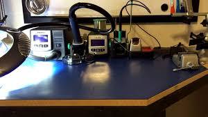 workbench update part 1 esd matting u0026 maglamp 0006 youtube
