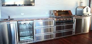 Outdoor Kitchen Stainless Steel Cabinet Doors Outdoor Kitchen Cabinets Stainless Steel S Outdoor Kitchen