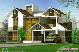 2568 square feet glass wall on front elevation kerala home