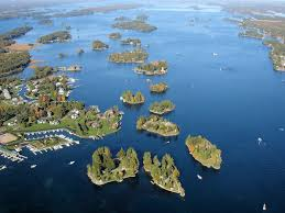 St Lawrence River Map Thousand Islands Alexandria Bay Ny Been Here Pinterest