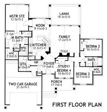 House Plans For Two Families House Plan 65873 At Familyhomeplans Com