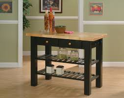 Unfinished Furniture Kitchen Island Whitewood Furniture Classic Black Goes Well In Many Kitchens But