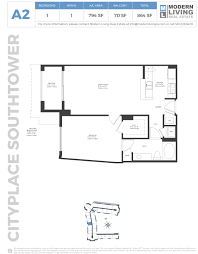 floorplans cityplace south tower west palm beach
