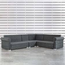 wicker patio furniture weather resistant outdoor sectionals