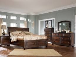 classic bedroom furniture with wood bed frame with headboard big