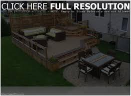 backyards compact backyard decks and patios outdoor wood decks