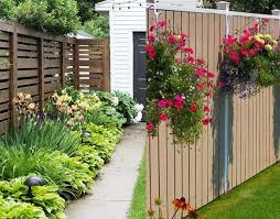 wonderful 50 backyard privacy fence landscaping ideas on a budget