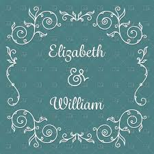 Wedding Invitation Cards Download Free Wedding Invitation Card Template With Vintage Floral Frame Vector