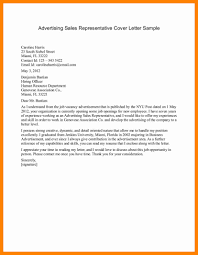 9 sales representative cover letter sap appeal