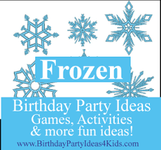 frozen themed party entertainment frozen birthday party ideas and games