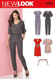 jumpsuit stitching pattern new look womens jumpsuits sewing patterns sew essential
