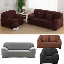 Easy Stretch Sofa Covers Sofa Armchair And Suite Slip Covers Ebay