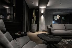 dark interior dark interior design by yodezeen