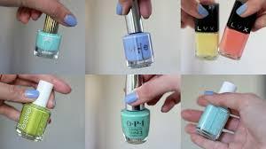 my top nail polish picks for spring 2015 opi essie live love