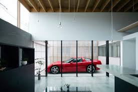 Home Garage Design Garage Terrace House By Yoshiaki Yamashita Design Milk