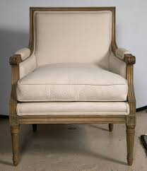 sold louis xvi style bergere chair style of jansen the