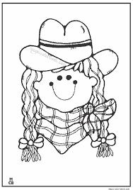 cowboy coloring pages 09