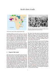 arab slave trade slavery religion and belief