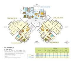 Nab Floor Plan 2 Bhk U0026 3 Bhk Apartment Sinhgad Road Pune 3 Bhk Flats Dsk Nabhangan