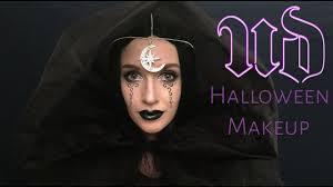 dark moon queen halloween makeup urban decay youtube