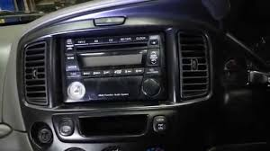 mazda tribute how to remove the factory radio from a ford escape mazdatribute