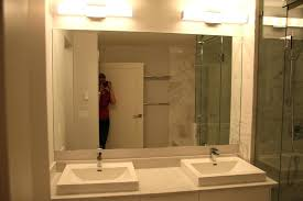 Custom Bathroom Mirror Custom Bathroom Mirrors Atlanta Mirror Frame Frames By Mirror Design