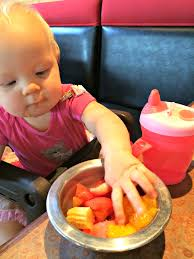 eating out with a 1 year old with allergies nerdy mamma