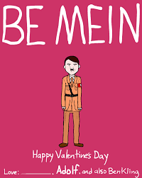 sarcastic valentines day cards dictator and day cards by ben kling