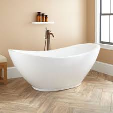 Old Fashioned Bathtubs Bathroom Josette Copper Double Slipper Clawfoot Tub With