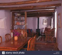 spanish dining room furniture wooden chairs and table in spanish cottage dining room with a wood