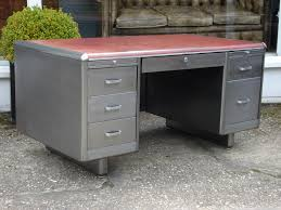 Small Steel Desk Sold 20th Century Polished Steel Desk Antique Desks