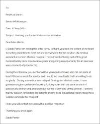 thank you letter after interview for hr manager mediafoxstudio com