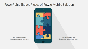 free puzzle piece template ppt template mobile puzzle slidemodel