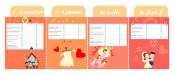 calendrier mariage mon planning d organisation de mariage à imprimer golem13 fr